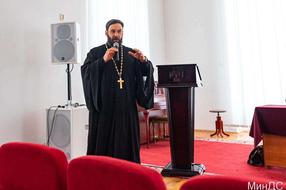 Встреча в Минской духовной семинарии