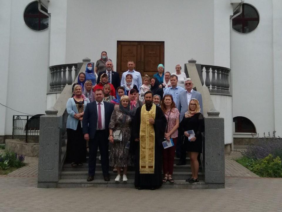 Молебен о мире на Белорусской земле и  о единстве народа Божия