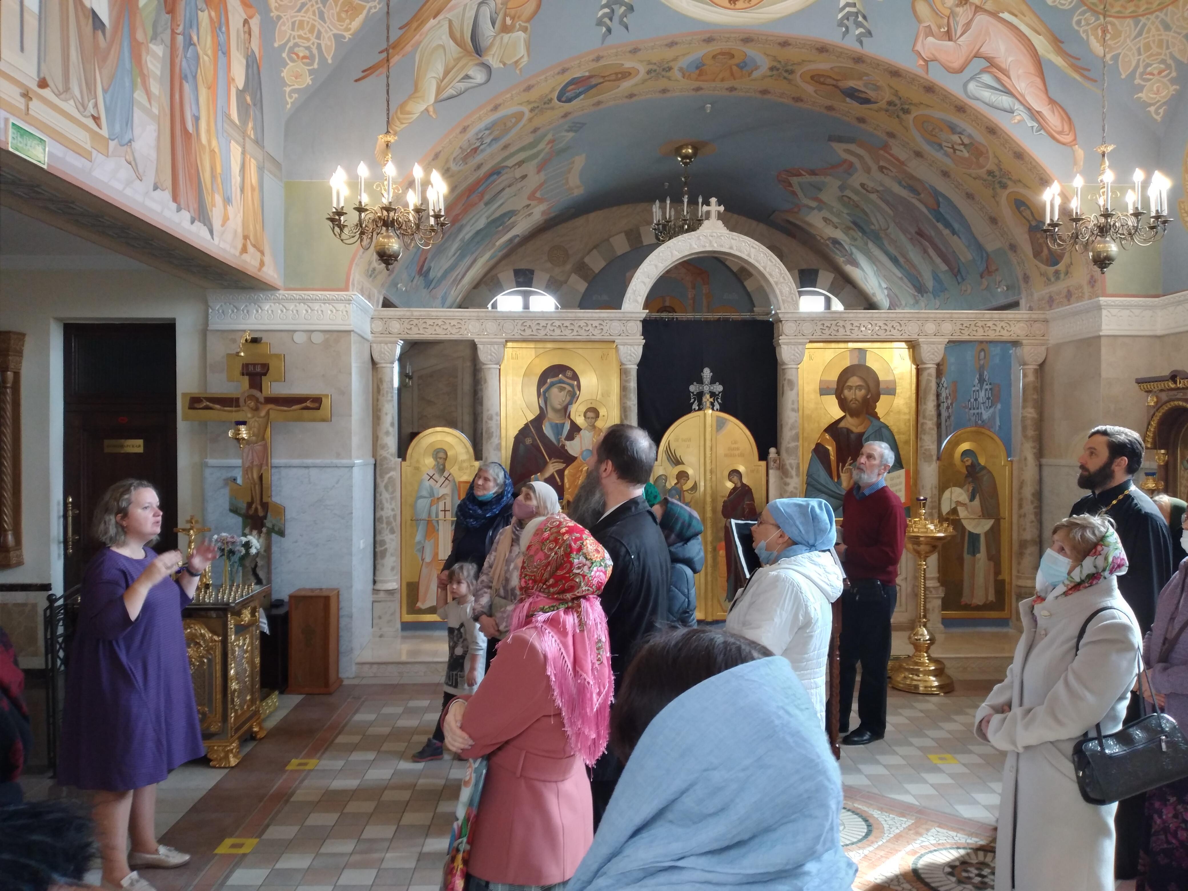 Экскурсия в Церковно-исторический музей              Белорусской Православной Церкви